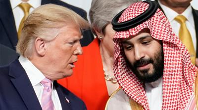 Trump and MBS