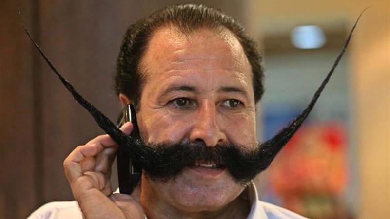 Is This The Worlds Most Dangerous Moustache Iran Al