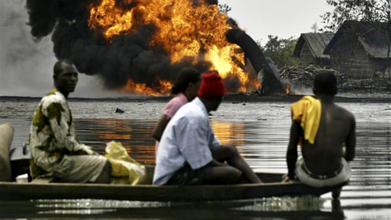Resultado de imagen de shell in Nigeria imagenes
