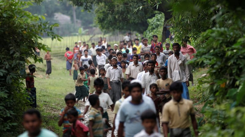 Myanmar's 1.1 million Rohingya Muslims are denied citizenship and face persecution [Soe Zeya Tun/Reuters]