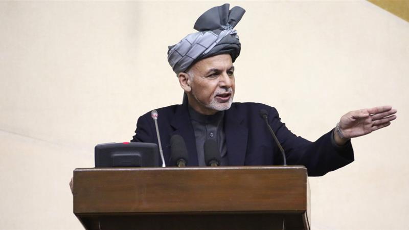 President Ashraf Ghani [AP]
