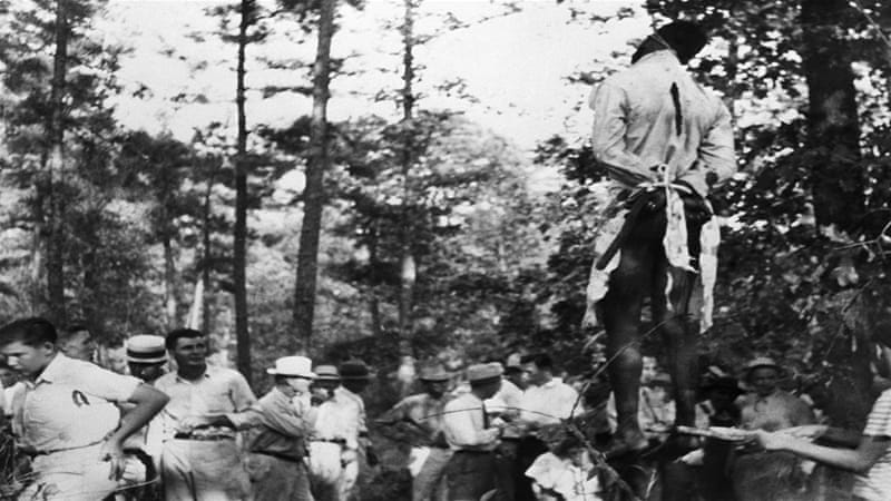 In the US context, the noose is meant to represent lynchings of African Americans that took place primarily from the 1860s to the 1960s [File: Getty Images]