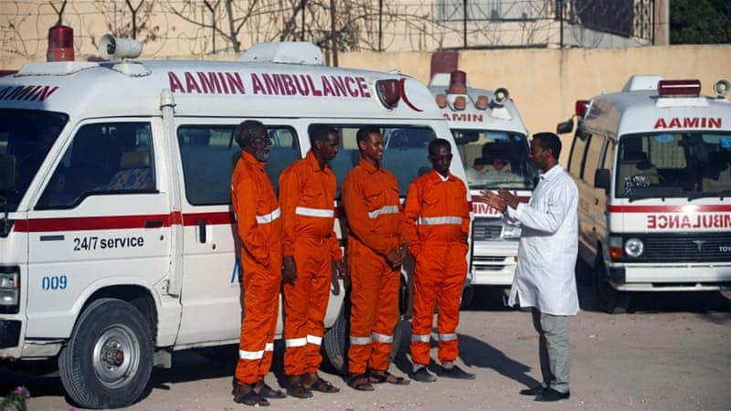 """Mogadischu Explosion: """"Wir haben noch nie solche Verwüstungen gesehen"""""""