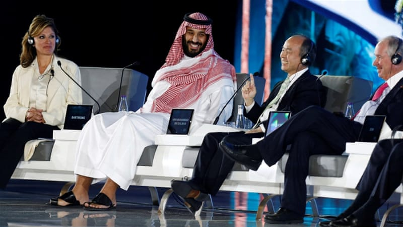 Saudi Crown Prince Mohammed bin Salman made his remarks during the Future Investment Initiative in Riyadh [File: Reuters]