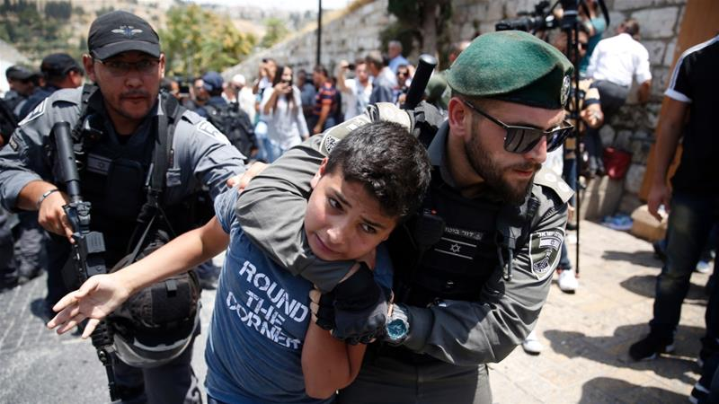 Rights groups say Israel has escalated targeting and arresting children in occupied East Jerusalem [File: AFP]