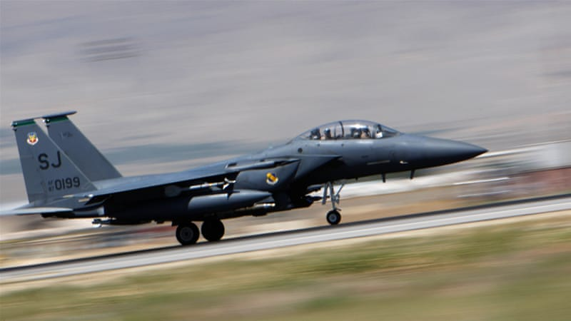 Qatar will buy 72 F-15s from the United States in a deal worth $12bn [File: Reuters]