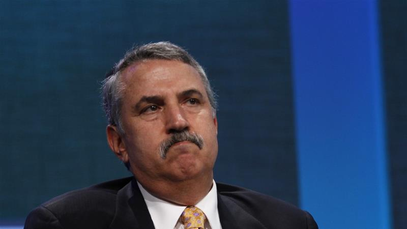 Thomas Friedman is the latest in the long panoply of Lawrences of Arabia dashing in and out of the peninsula in search of their oriental fantasies, writes Dabashi [Reuters]