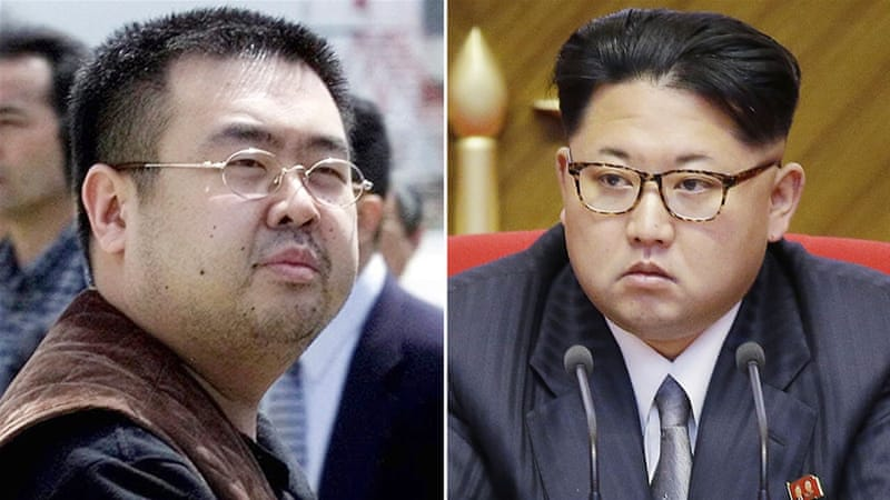 Kim Jong-nam, left, had said on several occasions over the years that he had no interest in leading North Korea [AP]