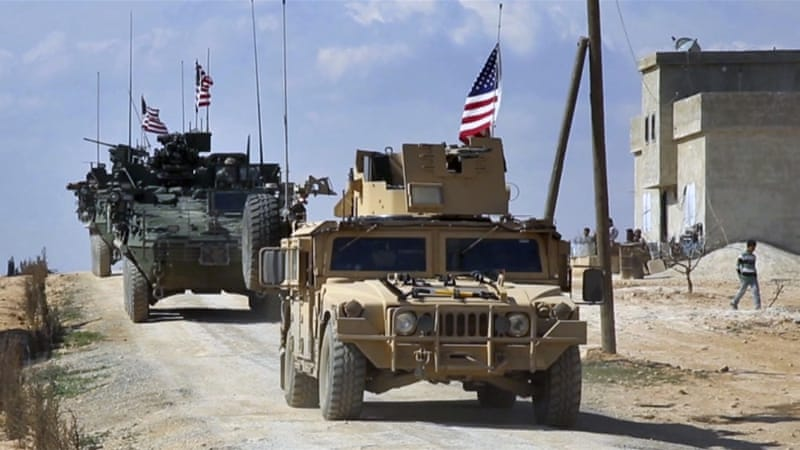 The recent show of force in Manbij meant to preserve the US priority of launching the Raqqa battle and not get distracted in shenanigans of identity politics, writes Macaron [AP]