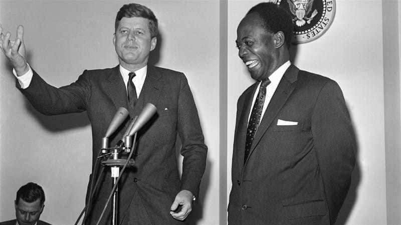 Ghana's first post-independence president, Kwame Nkrumah, was overthrown in a US-backed military coup in 1966 [AP]