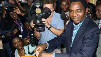 Image result for Zambian opposition leader Hichilema granted bail