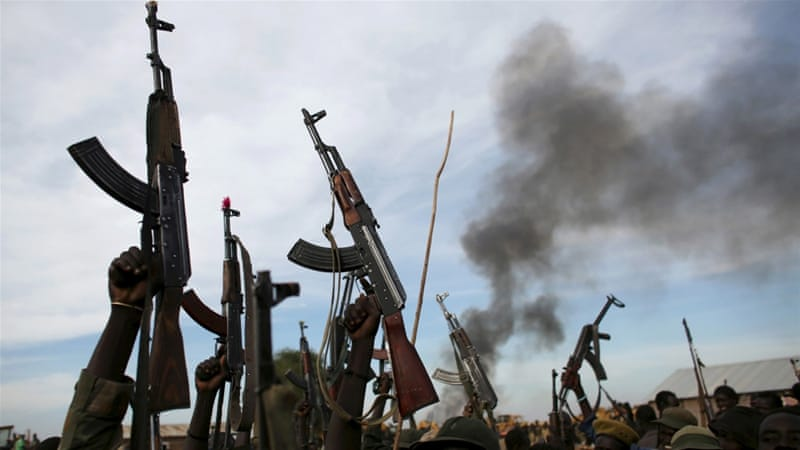 The UN says fighting flared when fighters loyal to President Kiir pursued his rival Riek Machar as he fled from Juba [File: Reuters]