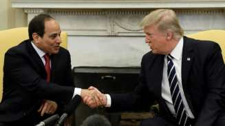 Image result for President Trump says he wants to visit Egypt