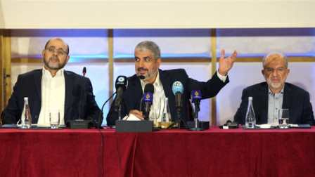 meshal announces revised hamas charter
