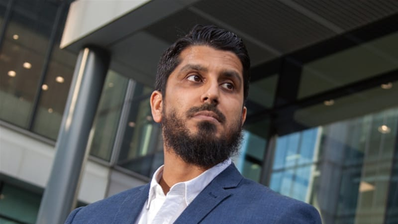 Muhammad Rabbani was arrested after landing at London's Heathrow airport [Courtesy: CAGE]
