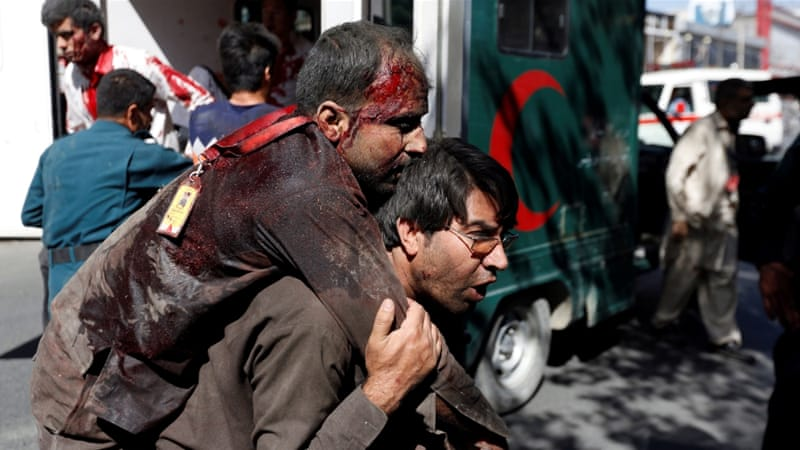 Three days of deadly violence began in Kabul on May 31 when a powerful truck bomb ripped through the city's diplomatic zone, killing at least 150 people [Reuters]
