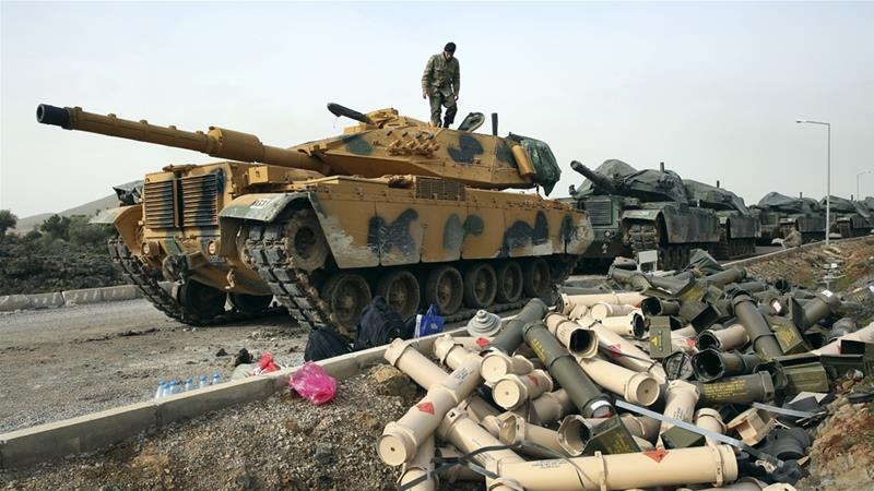 Turkey's military operation against Kurdish fighters in Syria is currently in its third day [AP]