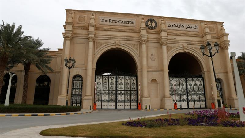 Those arrested as part of the 'anti-corruption purge' were held collectively in Riyadh's Ritz-Carton hotel [Reuters]