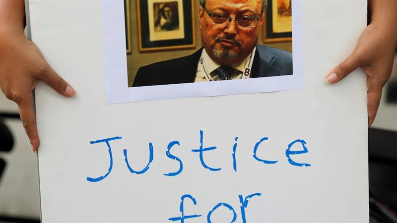 On October 19, Saudi Arabia admitted journalist Jamal Khashoggi was killed inside its consulate in Istanbul, saying he died in brawl, but made no mention of where his body is. [Reuters]