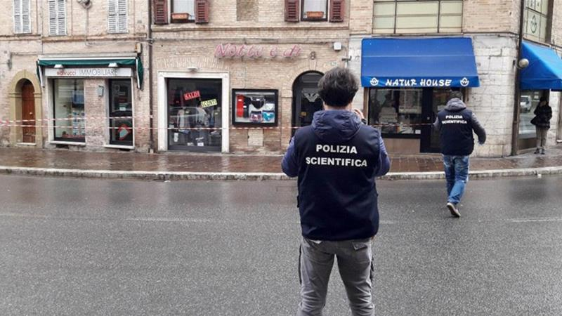 Gunman targets African migrants in Italy's Macerata