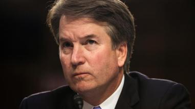 Kavanaugh is boiund to be a key member of US Supreme Court if he is confirmed by the Senate [Alex Wroblewski/Reuters]