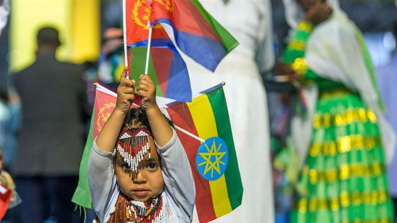 Ethiopia and Eritrea have moved swiftly to sweep away two decades of hostility [Mulugeta Ayene/AP Photo]