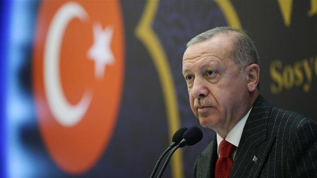 Erdogan says deployment's aim is 'not to fight', but 'to support the legitimate government and avoid a humanitarian tragedy' [AP]