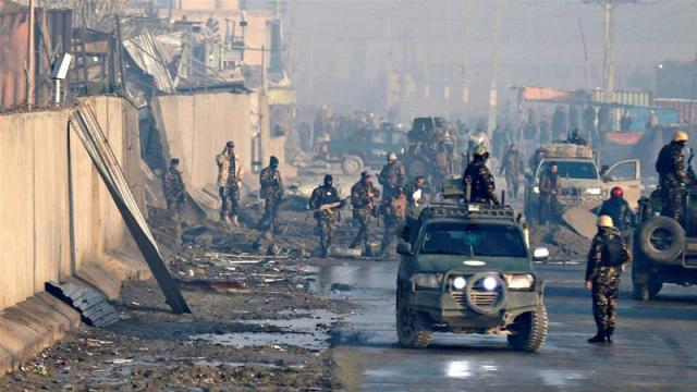 Image result for Explosion, Taliban attacks kill dozens across Afghanistan