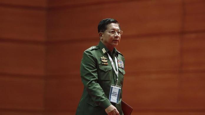 US slaps sanctions on Myanmar army chief over Rohingya abuses