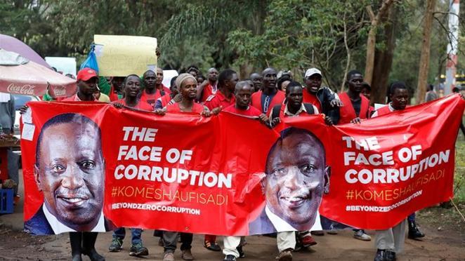 Image result for kenya corruption