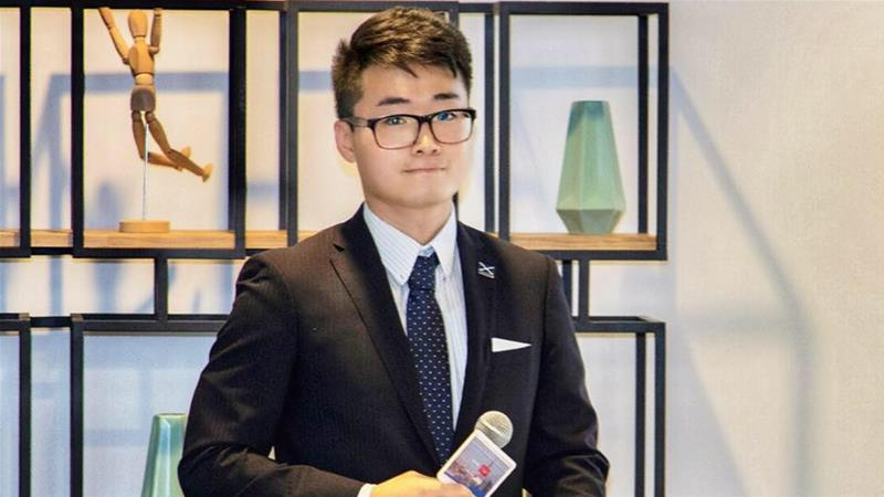 Simon Cheng did not return to work on August 9 after travelling from Hong Kong to the mainland city of Shenzhen the previous day, according to Hong Kong news website HK01 [Social media]