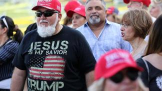 Survey Finds Belief That Trump Was 'Anointed by God' is on the Rise Among Church Attendees