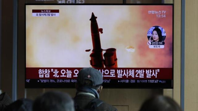 The United States and China have repeatedly appealed for North Korea to return to talks on ending its nuclear and missile programmes [File: Lee Jin-man/AP]