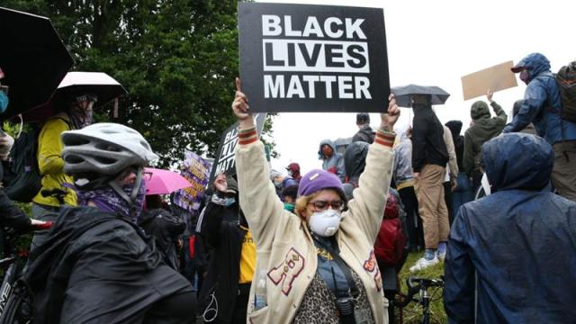 While the letter called for a debate on racism around the globe, it, in particular, highlighted the situation in the US [Karen Ducey/Getty Images/AFP]