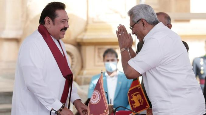 Mahinda Rajapaksa sworn in as Sri Lanka's PM after record victory | News |  Al Jazeera