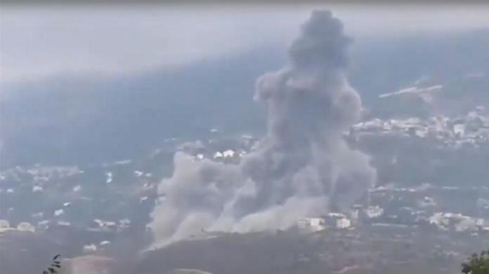 Southern Lebanon is a political stronghold of Hezbollah [Screengrab/Al Jazeera]