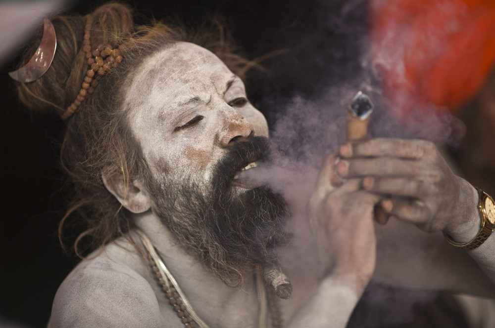Image result for indian man smoking weed