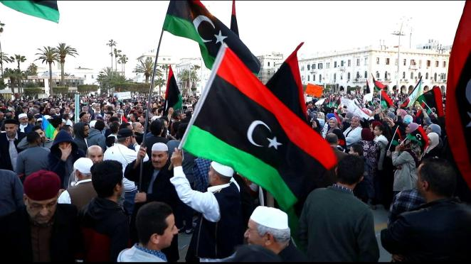 Protests in Libya against Haftar's offensive   News   Al Jazeera