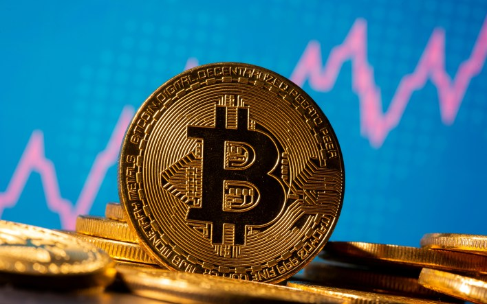 In December, bitcoin hit $20,000 for the first time [File: Reuters]