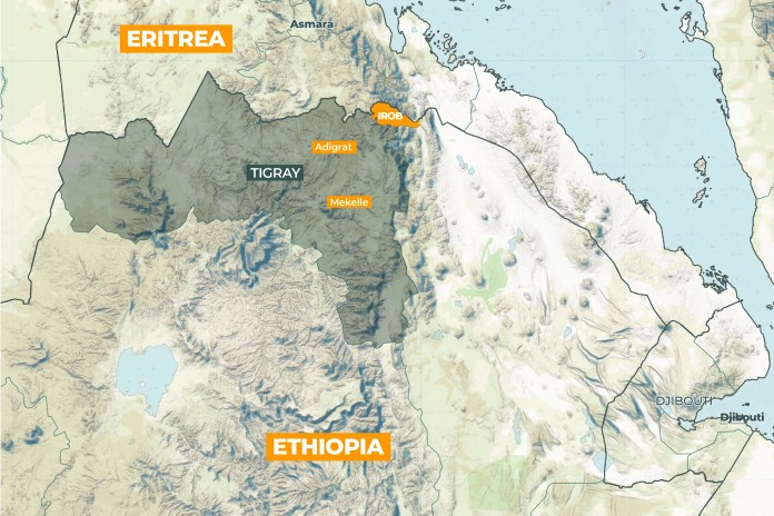 Interactive Ethiopia map Irob 01 02