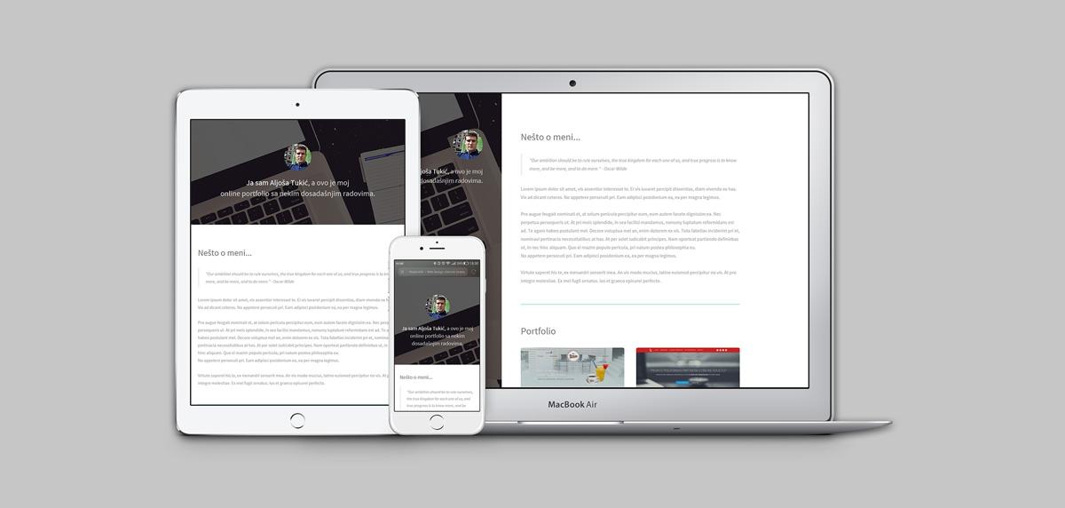 Portfolio-prezentacija-website