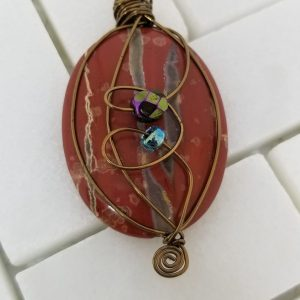 Wire-Wrapped Pendant