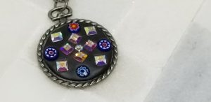 Rainbow swarowski pendant