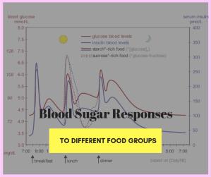 Blood sugar responses