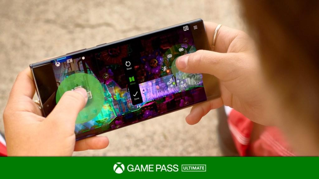 Controles táctiles de Xbox