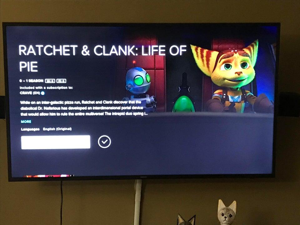 De la nada aparece un corto animado de Ratchet & Clank
