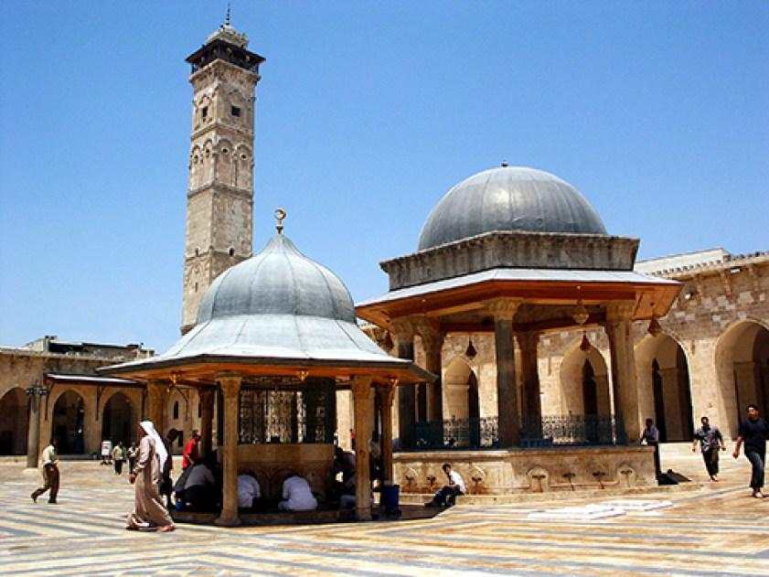 نتيجة بحث الصور عن الجامع الأموي في حلب