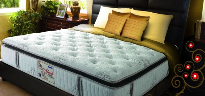 Alizeh Spring Mattress Mattresses Are Made With Steel Coil Innerspring Support System A Variety Of Foams And Fabrics On Top To