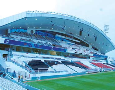Abu Dhabi stadium