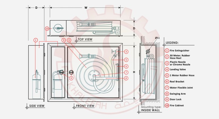 Product Drawing Model And Dimensions